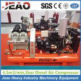 Beweglicher Kolben-Grubenwetter-Dieselkompressor für Goldförderung
