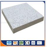 Tarjeta mineral suspendida del techo de la fibra/tarjeta de las lanas de Minearl