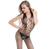 Оптовая торговля высокая эластичность плюс размер Sexy белья Fishnet Bodystocking BS8896
