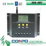 50A、48VのLCDのスマートな太陽コントローラ
