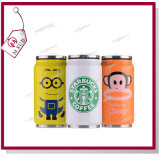 350ml Sublimation Stainless Can con Custom Artwork Print