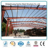 Estructura de acero del almacén del hangar del taller de la luz prefabricada del edificio