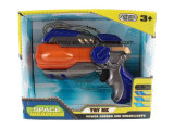 Plastic Toy van B/O Gun met Flashing Laser Light