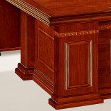 Tabela de madeira do escritório executivo do MDF da pintura natural da alta qualidade