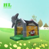 فيل زخرفة حديقة حيوانات موضوع قابل للنفخ ييقفز [بوونسر] لأنّ جديات