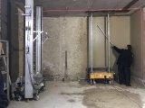 벽 고약 기계 가격 자동 벽 Troweling 기계장치