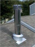 Gas-Luftauslass-Kamin-Rohr