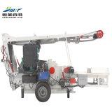 ディーゼル機関を搭載する5-8t移動式木製の砕木機