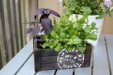 가정 저장 장식 사용을%s 주문을 받아서 만들어진 포도 수확 시골풍 나무 상자