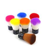 Doux colorés de la magie de la poussière d'ongles nail Cycle de nettoyage Brosse à ongles