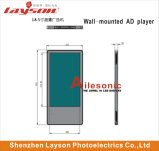 L'écran de l'élévateur de 15,6 pouces TFT couleur LCD numérique à LED de signalisation de la publicité Media Player Lecteur vidéo