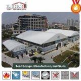 40mの幅のドームの形アルミニウムおよび屋外展覧会およびイベントのための8mの側面の高さのPVCフレームのテント