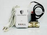 ホームセキュリティーのためのソレノイド弁Dn20が付いているLPGのガス探知器