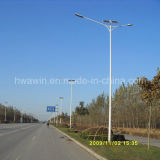 8m 9m 10m Light Pole 60W lampe LED Lampadaire solaire