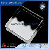 100% Lucite Hoja acrílica gruesa para construcción / acrílico plexiglás