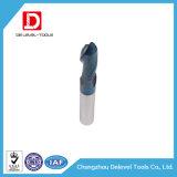 Strumento di carburo personalizzato del tungsteno del laminatoio di estremità della punta della sfera del carburo
