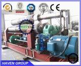 W11-12X3200 3 Rouleau quanlity gigh plaque hydraulique machine de laminage de flexion