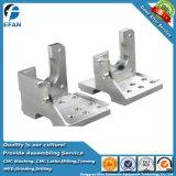Parte di alluminio di macinazione del macchinario di CNC del fornitore della Cina per la macchina d'erogazione