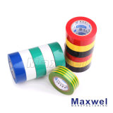 Amarillo Verde aislamiento de PVC cinta eléctrica