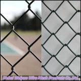 Пвх покрытие оцинкованной звено цепи ограды/ звено проволочной сеткой