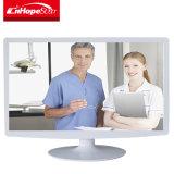 Médico de color blanco de 21,5 pulgadas LCD Monitor LED con AV/TV/VGA/USB/Entrada HDMI™