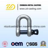 China personalizou a ferragem do equipamento pela fundição de aço inoxidável