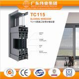 Het Chinese het Opleveren van het Onderzoek van de Onderbreking van de Leverancier Thermische Glijdende Venster van het Aluminium