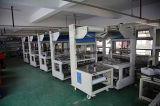 De hand Semi Automatische Verzegelaar combineerde met het Krimpen van de Zaal van de Oven voor Zij het Verzegelen 4 Verpakking met Rol en vouwde Film POF
