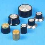 Effektoren Ampere-Punkt-gerändelter Gitarren-Schalter-Knopf-Datenträger