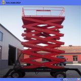 4m -18m bewegliche hydraulische Scissor Aufzug