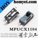 SMD 4pin Arc-Shaped Tasten-Rücksetzschalter/Drucktastenschalter mit Registrierung-Mast