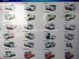 Foton kit cubico del camion della spazzatrice di strada dei tester di Forland 3 - 4