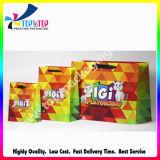 Bien diseñado en color de la famosa marca al por mayor bolsas de papel