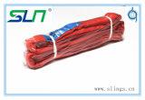 2017 imbracatura rotonda infinita di colore rosso 5t*2m con Ce/GS