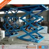 ISO hydraulische stationäre Schere-Aufzug-Diplomplattform