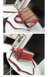 A forma relativa à promoção do saco ensaca o saco das mulheres do plutônio da senhora Bolsa Couro Bolsa Lona das bolsas do saco de mão (WDL0356)