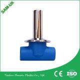 Il Sam-REGNO UNITO 20, valvola a sfera poco costosa della plastica PPR di 40, di 25, di 50, di 32, di 63mm per acqua calda e fredda