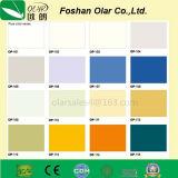 Panneau décoratif de traitement UV de résistance de la colle de fibre