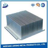 Folha de precisão de aço do radiador de alumínio extrudido estamparia de metal com serviço de Corte a Laser
