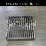 Rejilla de acero de alta calidad para la zanja de drenaje