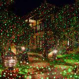 Напольные света рождества лазера светляка Red&Green Moving, напольный лазерный луч от Китая