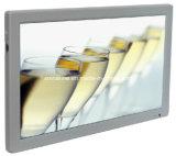 18.5 '' écrans LCD manuels d'étalage de véhicule d'entrée du VGA HDMI