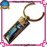 Porte-clés en métal Bespoken pour cadeau en fil blanc (M-MK53)