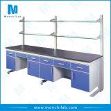 Stahl- und hölzerner Laborwand-Prüftisch