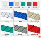 Hiquality a galvanisé la tuile de toit en acier de couleur pour le matériau de construction