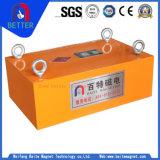 小麦粉、砂糖、食糧、化学薬品、機械金属のためのISOの証明書のNdFeBの常置中断磁気分離器