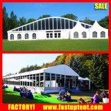 Semi-Permanent armazón de aluminio Pesado techo curvo de carpa de exposición