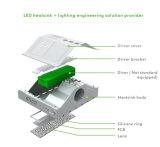 5 años de la garantía 100W del camino LED de luz de calle con poder más elevado de la viruta del CREE