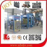 Qt10-15 Betão e máquina de tijolos de cimento para a Índia