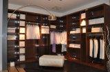 木のワードローブの食器棚(ZH977)の現代寝室のヨーロッパの歩行
